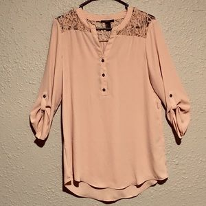 Forever21 pink tunic top
